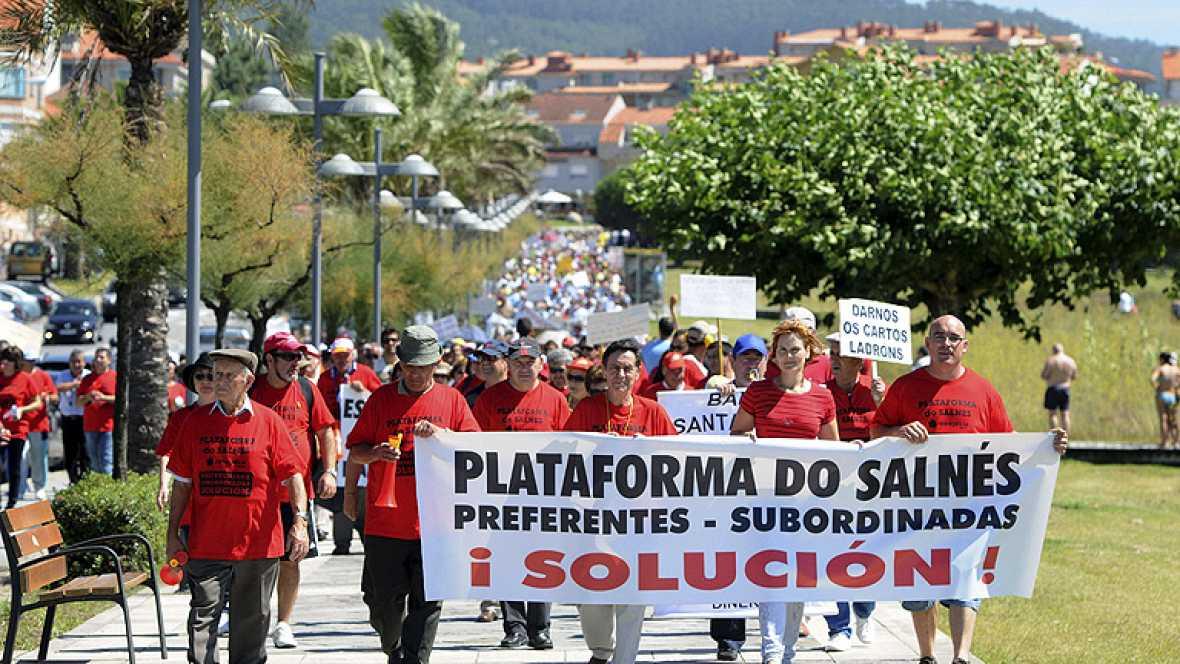 Más de cinco mil afectados por las participaciones preferentes en Galicia s