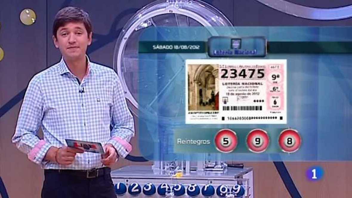 Lotería Nacional - 18/08/12 - ver ahora