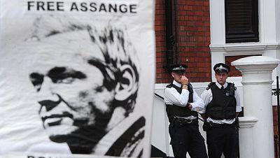 Julian Assange hablará públicamente desde la embajada de Ecuador en Londres