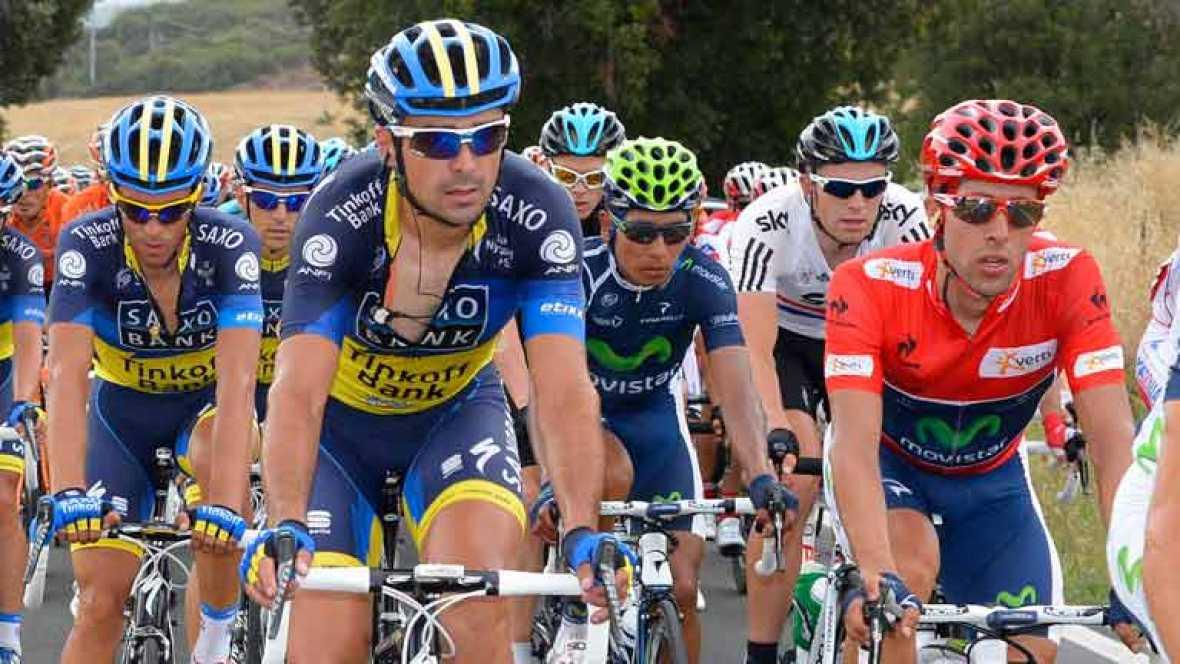 Después de 180 kilómetros entre Pamplona y Viana, la etapa se ha decidido al sprint. El alemán John Degenkolb ha sido el más rápido. En la general, el  jersey rojo lo sigue conservando el español Jonathan Castroviejo. Alberto Contador ha conseguido r