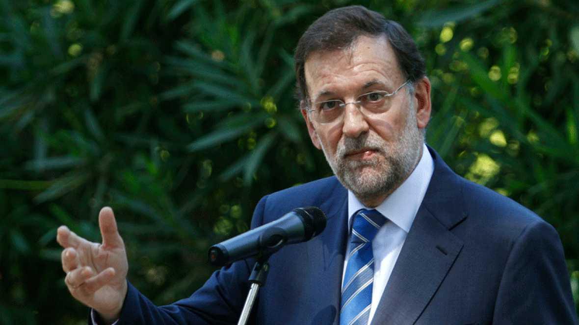 Rajoy se incorpora a su despacho