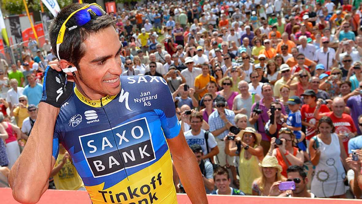 El corredor de Pinto es junto a Capechi el único corredor de esta Vuelta a España 2012 que sabe lo que es ganar en Arrate - Eibar.