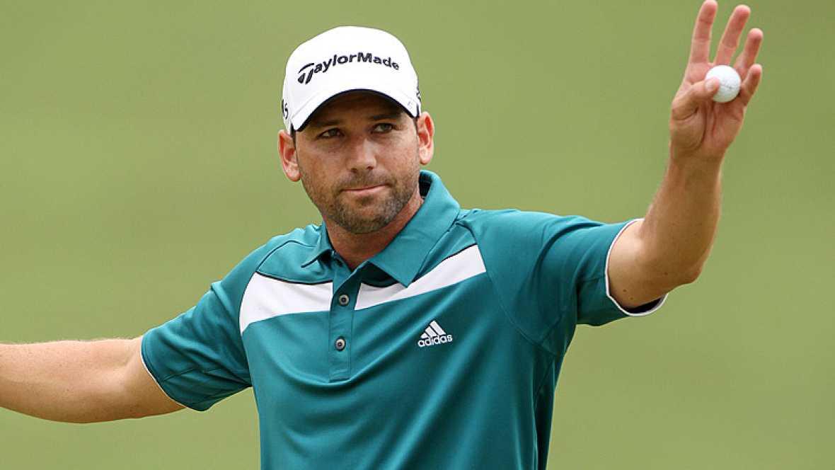 El golfista español Sergio García ha conquistado el Torneo de Wyndham tras cuatro años sin ganar un torneo en el circuito americano de la PGA.