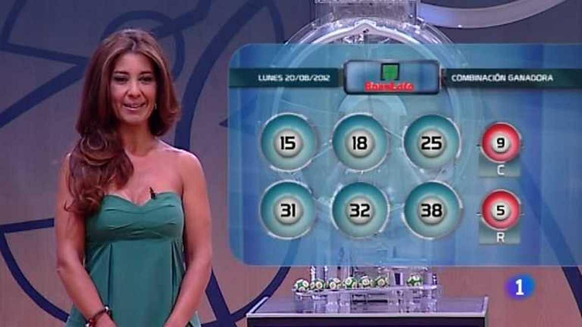 Bonoloto - 20/08/12 - ver ahora