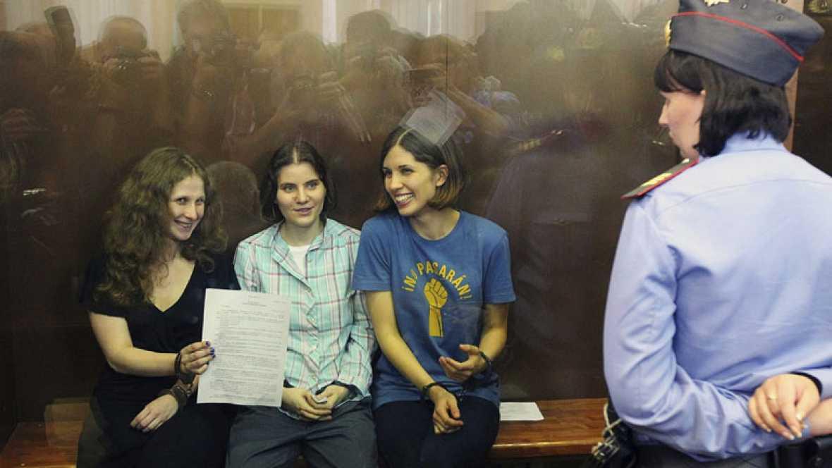 Otras dos integrantes de las Pussy Riot, en busca y captura en Rusia