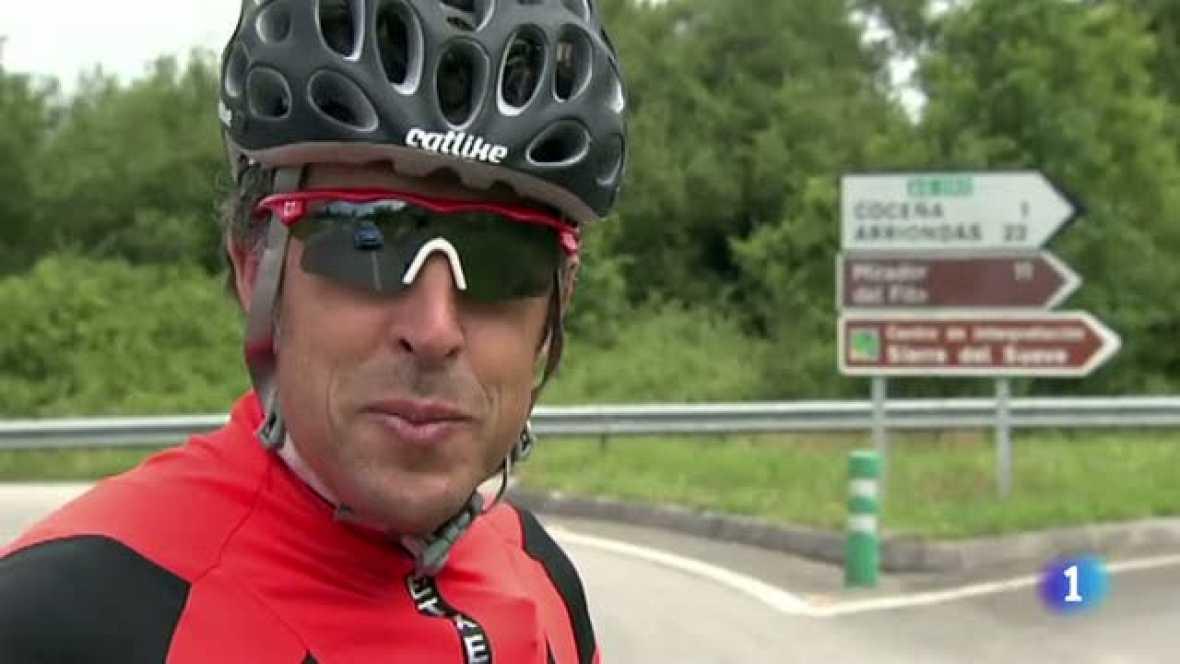 El comentarista de TVE se atreve esta vez con un final de etapa mítico en la Vuelta ciclista a España. Pedro Delgado además fue vencedor en Lagos en dos ocasiones.