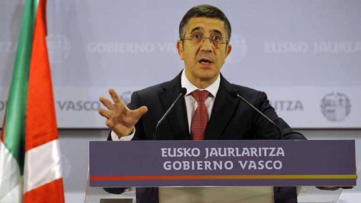 Se convoca elecciones anticipadas en el Pais Vasco para el 21 de Octubre
