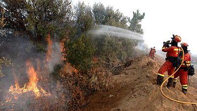 El incendio de Castrocontigo en León ya ha quemado 10.000 hectáreas
