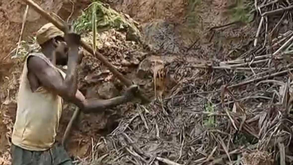 Las minas de República Democrática del Congo, controladas por mafias