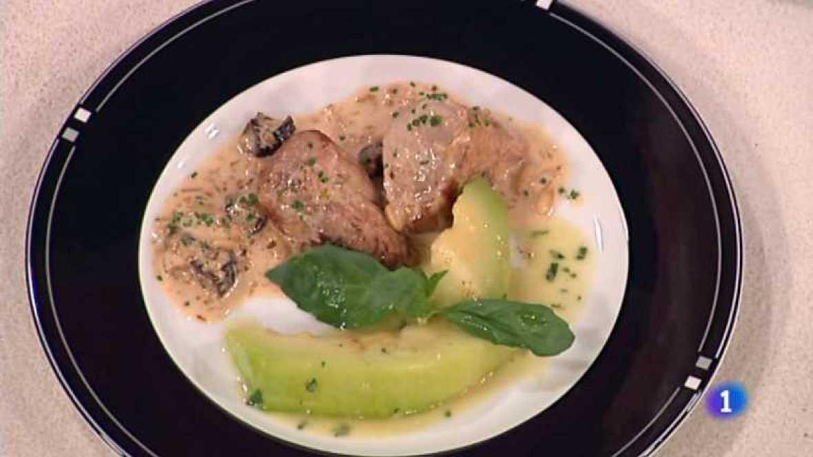 Cocina con Sergio - Medallones de cerdo al cava con melón - ver ahora
