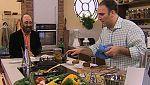 José Andrés nos enseña como cocinar codornices con pisto y orejones