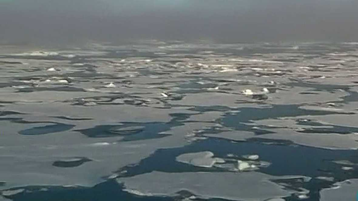 El Océano Ártico ha encogido más que nunca este verano