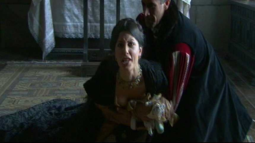 Isabel - La reina Juana pierde a su hija