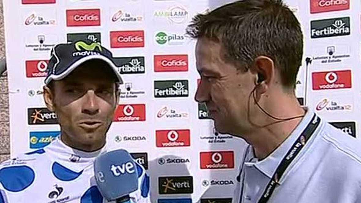 El corredor del movistar se ve con opciones de mantenerse entre los aspirantes a todo en esta Vuelta a España ya que aunque no sea un especialista contra el crono, la del miércoles se ajusta mejor a sus características.