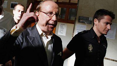 """Ruiz-Mateos, en libertad, tras decir que la jueza es """"muy mala"""""""