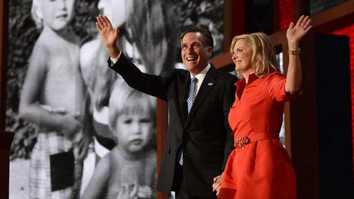 Los delegados republicanos nombran oficialmente a Mitt Romney como candidato a la presidencia de Estados Unidos