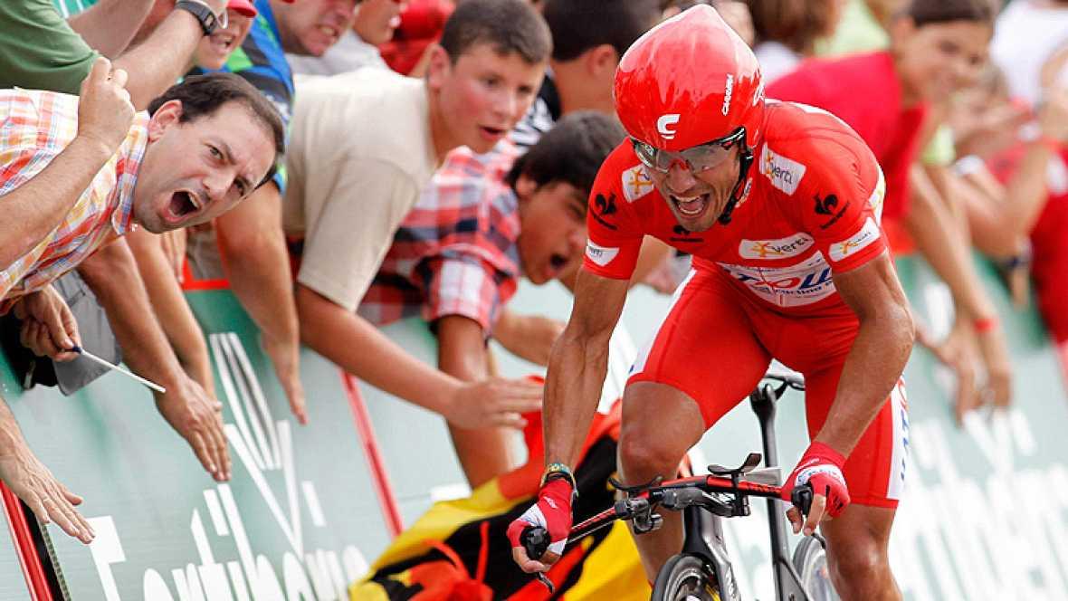 El sueco Fredrik Kessiakoff (Astana) ha ganado la undécima etapa de la Vuelta a España, una contrarreloj individual entre Cambados y Pontevedra, de 39,4 kilómetros, mientras que Purito Rodríguez, séptimo clasificado, conservó el maillot rojo de líder