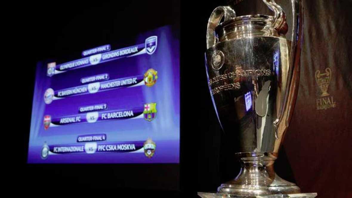 El camino a Wembley arranca  en el Foro Grimaldi de Montecarlo. 32 equipos, 4 españoles, se juegan su futuro en unos bombos de la suerte. Nadie en Europa quiere cruzarse en el camino de Madrid y Barça.