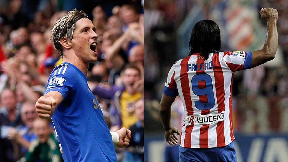 La Supercopa de Europa entre el Atlético de Madrid y el Chelsea de Torres será un duelo Torres - Falcao. El partido tendrá un marcado acento español ya que en el campeón de la Champions militan varios jugadores españoles como Mata, Torres, Romeu o Az