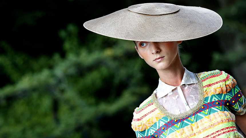 Desfile del DELPOZO en Mercedes-Benz Fashion Week