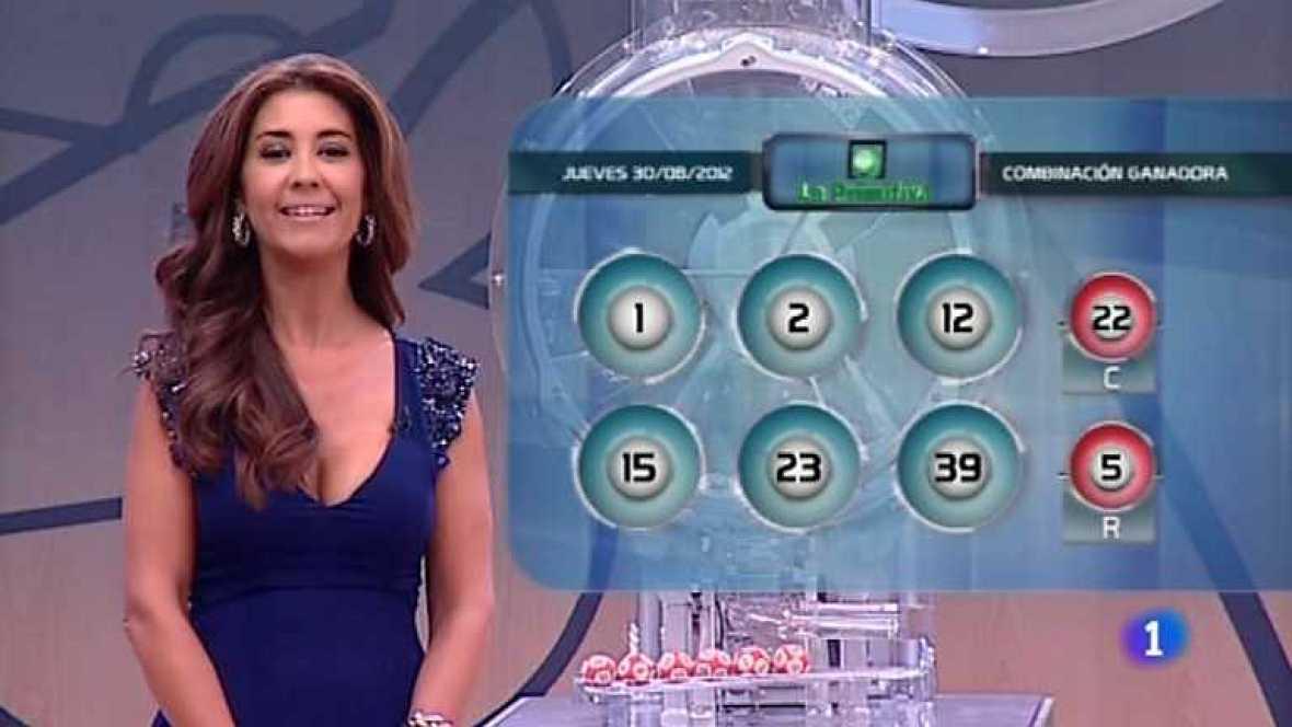 Lotería Nacional+Primitiva - 30/08/12 - Ver ahora