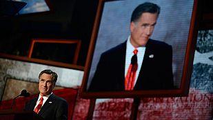 Mitt Romney acepta la candidatura presidencial del Partido Republicano