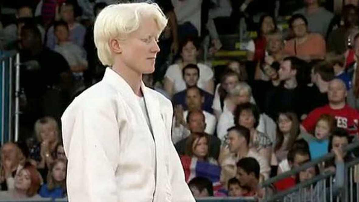 La judoca española Marta Arce se ha colgado la medalla de bronce en la categoría de menos 63 kilos en los Juegos Paralímpicos de Londres 2012.