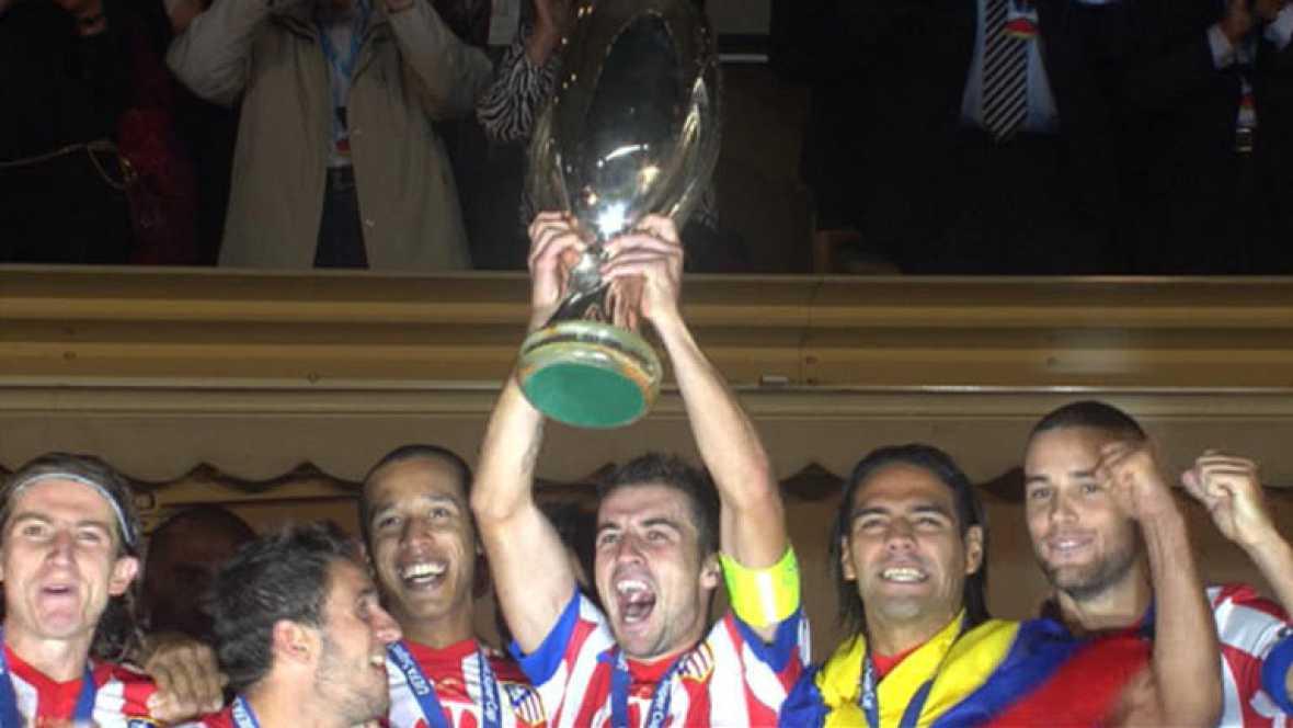El Atlético de Madrid se ha alzado su segunda Supercopa de Europa. Lo ha hecho en el estadio Luis II de Mónaco, pasando por encima del Atlético de Madrid.