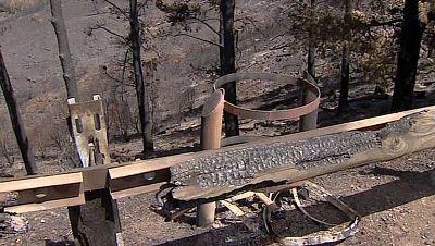 El incendio de La Gomera sigue sin estar completamente apagado
