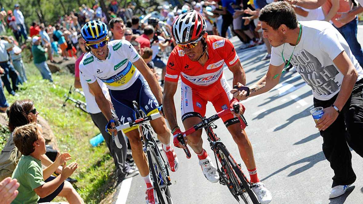 El español Joaquim Purito Rodríguez ha ganado la primera etapa de alta montaña de la Vuelta