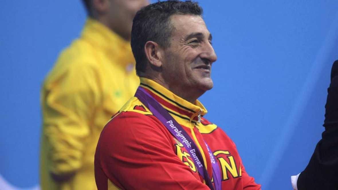 """El nadador paralímpico español Sebastián """"Chano"""" Rodríguez ha aumentado su """"cosecha"""" de medallas en los Paralímpicos de Londres con una nueva plata, al quedar segundo en la prueba de los 200 metros libre, por detrás del brasileño Daniel Dias"""