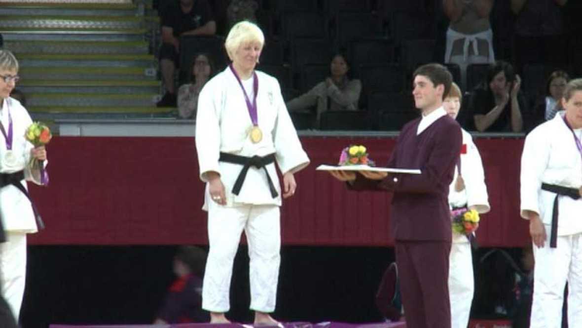 Desde que el judo femenino para ciegos se introdujo en el programa paralímpico, la judoca malagueña ha ganado todos los oros en competición: 3.