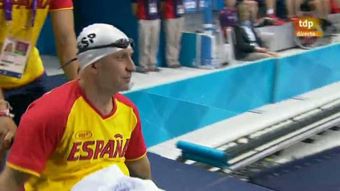 El nadador paralímpico español Miguel Luque (clase SB3) ha conseguido la primera medalla -de plata- en la final de los 50 metros braza, de la quinta jornada de competición de los Juegos Paralímpicos Londres 2012.