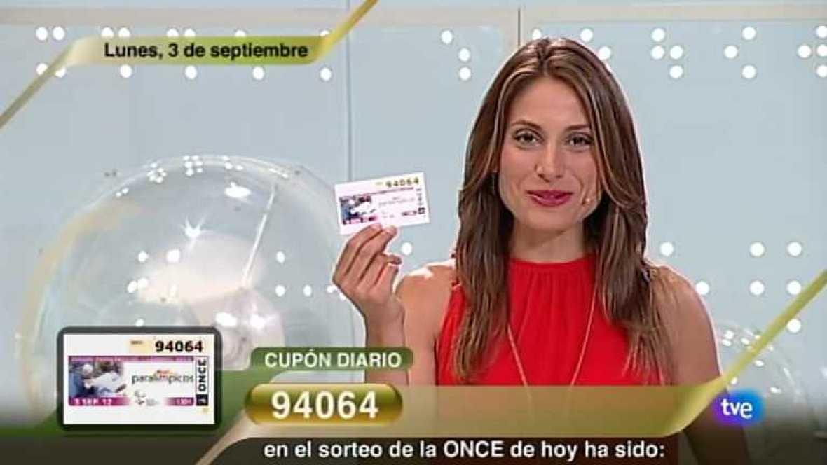 Sorteo ONCE - 03/09/12 - Ver ahora
