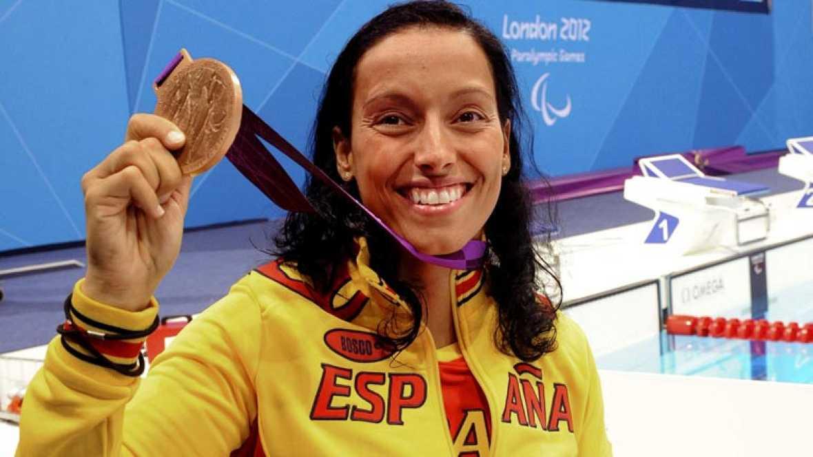 La aragonesa, que tiene aún tres pruebas por nadar, apuesta por llegar a las 22 medallas, todo un récord personal. Ten, por su parte, se queda con un cierto sabor agridulce porque esperaba luchar por el oro en los Juegos Paralímpicos de Londres 2012.