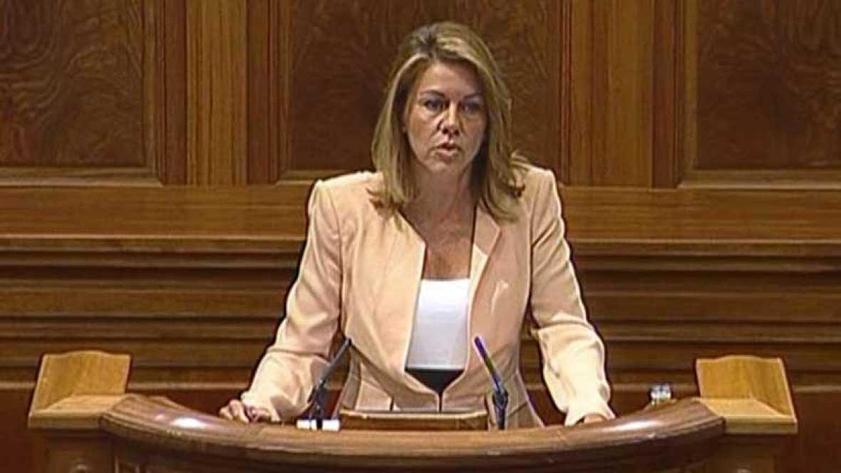 Cospedal anuncia que quiere reformar la ley electoral de Castilla La Mancha
