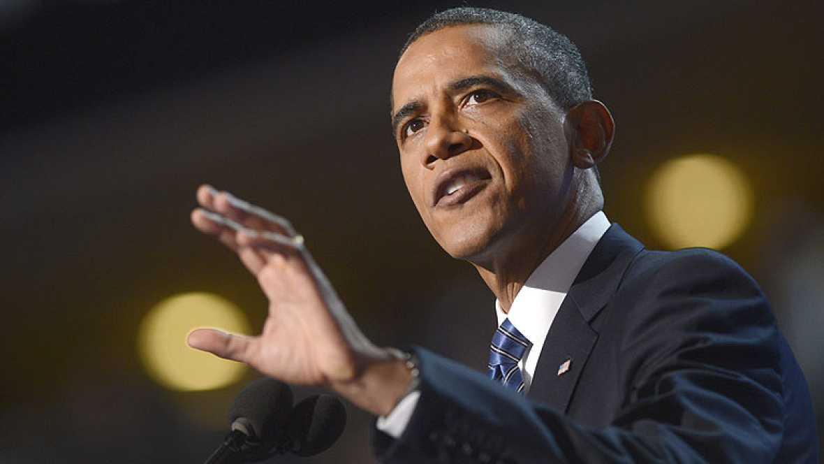 """Obama: """"El camino que ofrezco es difícil pero lleva a un lugar mejor"""""""