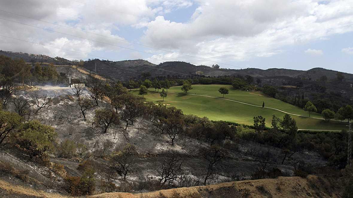 Los parados podrán ser requeridos para limpiar los montes tras los incendios