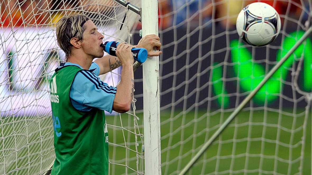"""El delantero español del Chelsea Fernando Torres, que cumplirá en los encuentros ante Arabia Saudí o Georgia las cien internacionalidades con la selección absoluta, ha dicho hoy que """"es una suerte formar parte"""" de la generación que ha hecho historia"""