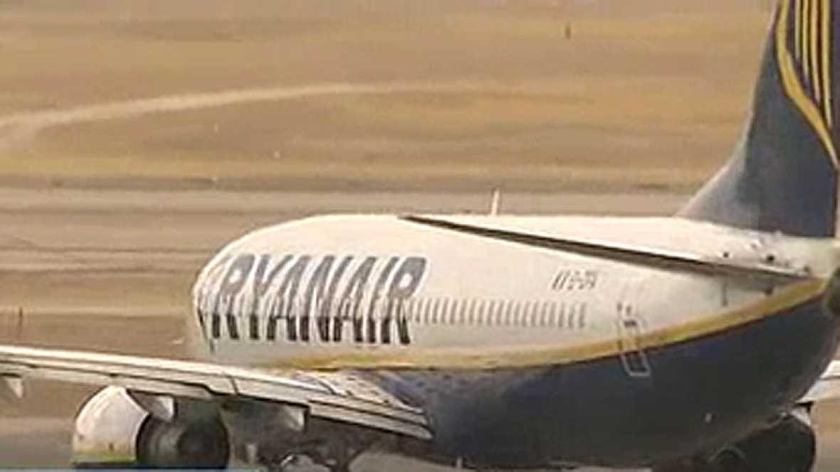 Problemas en un vuelo de Ryanair