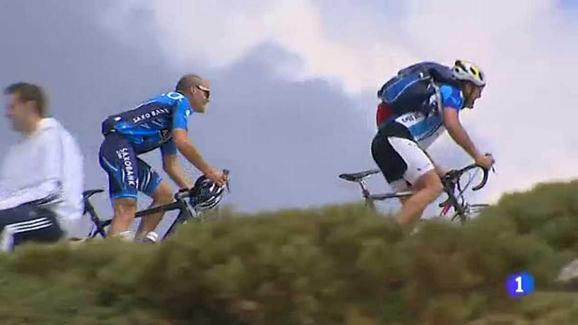 Aunque sea la penúltima etapa de la Vuelta ciclista a España 2012, los gallos de la carrera quieren dar guerra en la última etapa de montaña que discurrirá por la Sierra de Guadarrama.