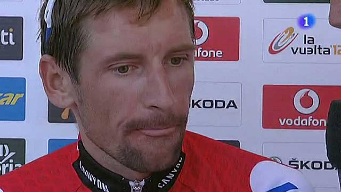 El vencedor de la 20ª etapa de la Vuelta ciclista a España ha reconocido la importancia de su victoria en lo personal y ha querido remarcar la gran Vuelta que ha hecho su equipo.