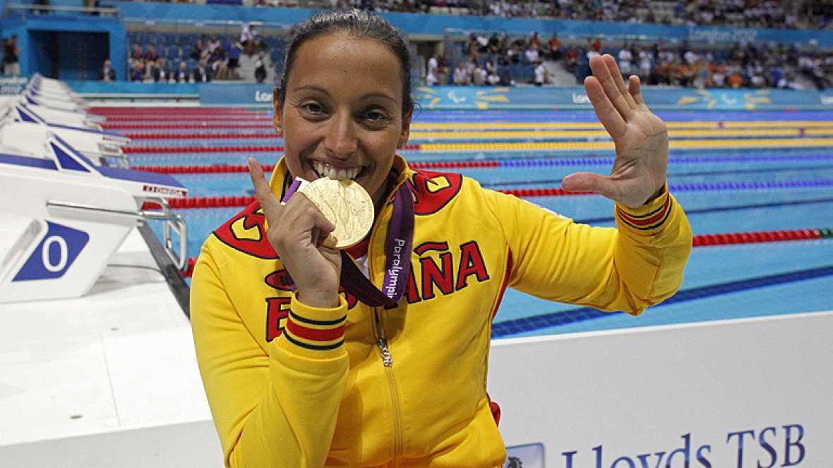 España ha sumado cinco medallas más en esta penúltima jornada de los Paralímpicos y ya son 41. Ha sido el día de Teresa Perales. Con el oro en los 100 metros libre, su primer oro en estos Juegos, ha igualado al mítico Michael Phelps con 22 medallas e