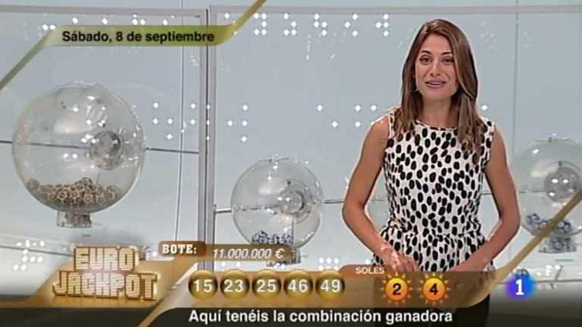 Sorteo ONCE - 08/09/12 - Ver ahora