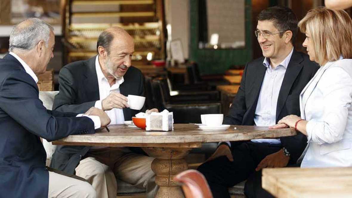 Primer Comité Federal del PSOE con Rubalcaba al frente