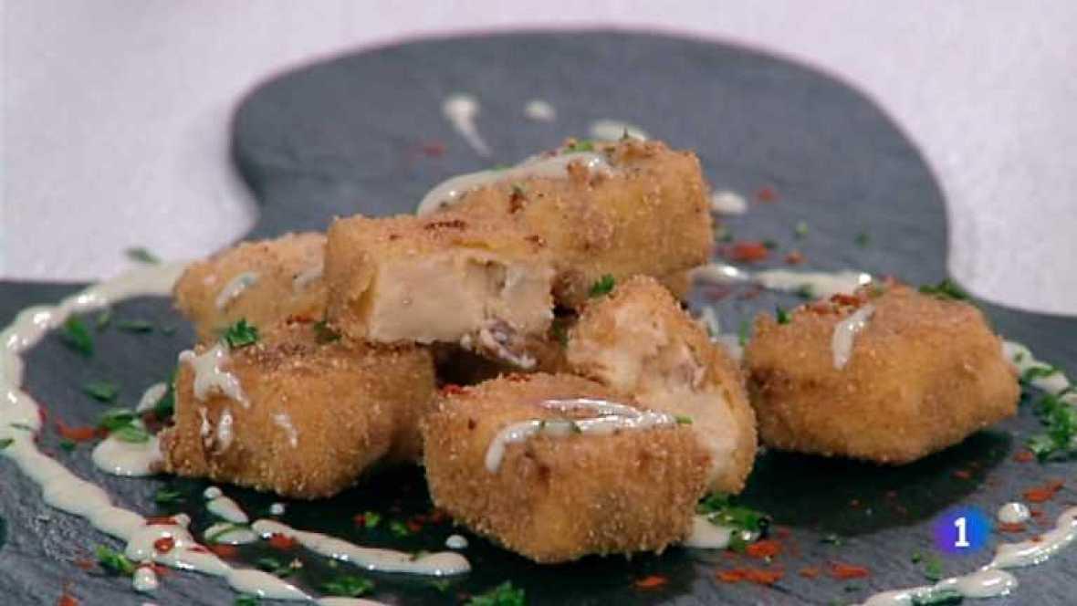 Cocina con Sergio -  Croquetas de chorizo con queso - Ver ahora