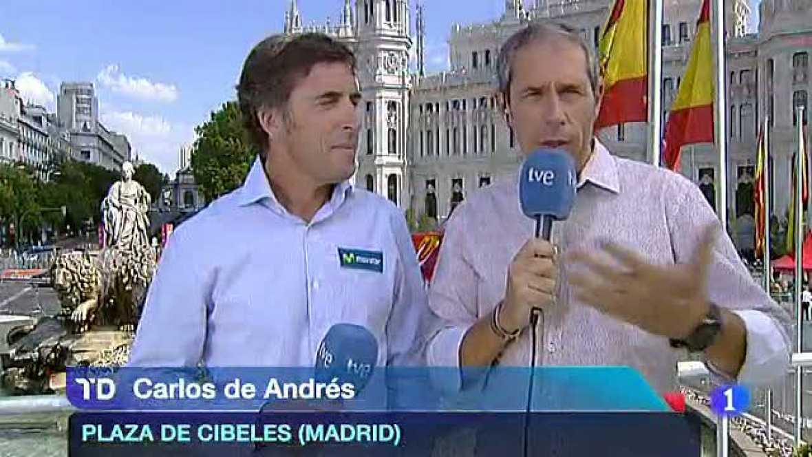 El comentarista de TVE analiza lo que ha sido la Vuelta ciclista a España 2012.