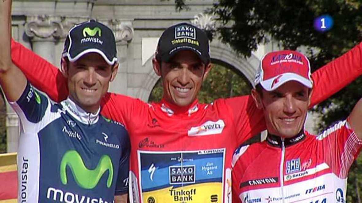 Vuelta ciclista a España 2012 - 21ª etapa: Cercedilla-Madrid - Ver ahora