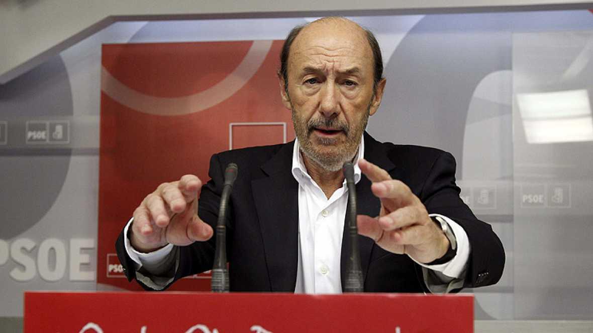 """Rubalcaba pide una reforma fiscal para que paguen más """"los que más tienen y heredan"""""""