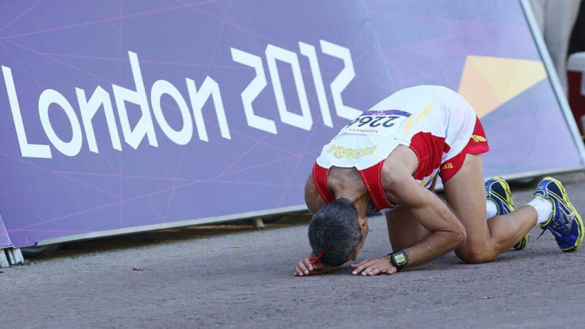 Los Juegos Paralímpicos de Londres concluyeron este domingo con un  total de 42 medallas para la delegación española, que estuvo liderada  por viejos conocidos de anteriores citas, fundamentalmente por la  aragonesa Teresa Perales, la que más preseas